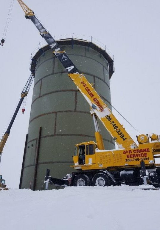 20190211_Water Tower North of Pullman